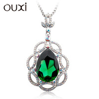 OUXI New arrival ladies fashion jewelry chain made with Swarovski elements 11039-1