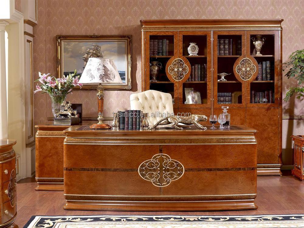 design italien luxe mobilier de bureau royale italienne de luxe bureau burea. Black Bedroom Furniture Sets. Home Design Ideas