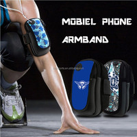 Outdoor Exercise Running Jogging Multiple Pockets Case for iPhone 6 Neoprene Sports Armband