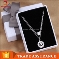 Italian costume bridal necklace jewelry set popular locket necklace jewelry