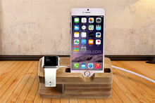 New Wood holder for Apple watch with charging Wooden holder