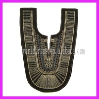 World trims wholesale fashion back neck design of ladies suits WTA174
