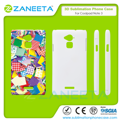 3D Blank Sublimation Printing Mobile Phone Cover For Coolpad Dazen Note 3