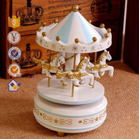 Professional production wedding gifts merry-go-round music box carousel music box souvenirs