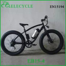 EB15 350W 26inch li-ion battery 26*4.0 fat tire beach cruiser electric bike