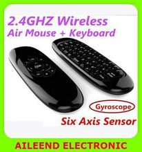 c120 For Android PC Keyboard Remote Air mouse rf remote control 2.4g flymouse air mouse
