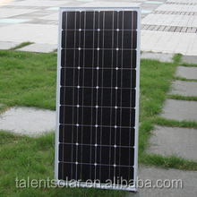 130W mono Solar panel more green and efficiency PV photovotaic factory from China