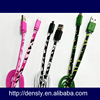 Factory wholesale USB Data Cable Line for Samsung Galaxy S4 Camouflage usb cable for samsung