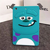 3D Silicone Cartoon Case Cover Sulley Monster Case for Apple Ipad 6/Air 2