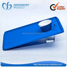 Inflight product eco-friendly ABS plastic anti-slip cup tray