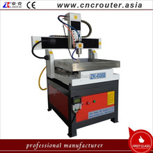 China factory price 1.5kw round guide rail cnc router mini metal cnc router