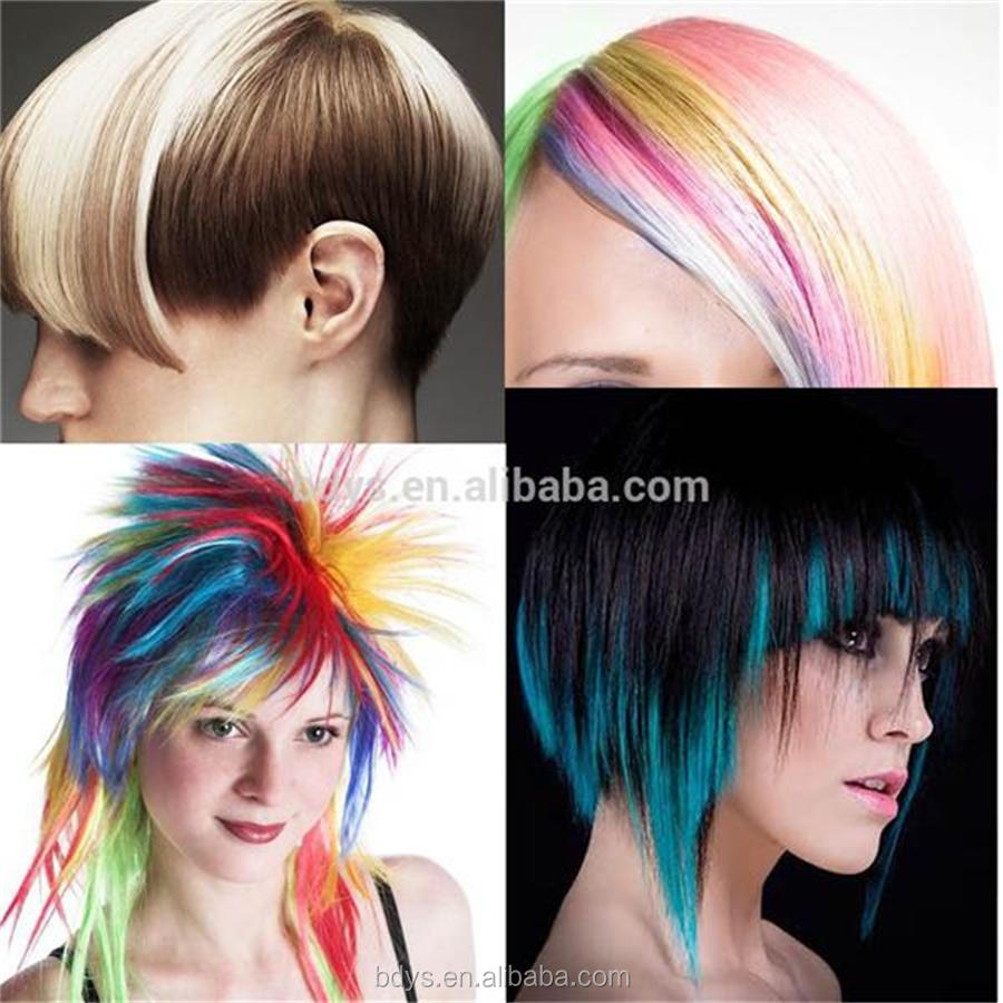 Semi Permanent Color Chalk For Haireco Friendly Hair Highlight