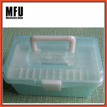 MFU Small plastic tool equipment case / plastic carrying case