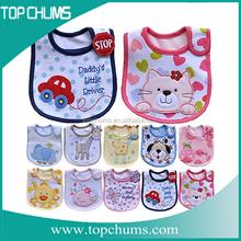 2015 china supplier cheap cotton red bib overalls,unique baby bibs,pvc bib cock china