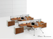 wood veneer modern cubicle designs from china with prices KA-10