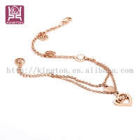 foot jewelry indian anklet jewelry plating rose gold anklet designs