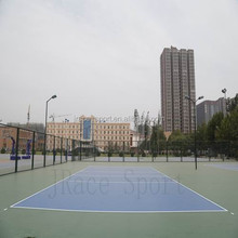 baseball courts rubber flooring for concrete base