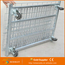 aceally folding steel storage cage