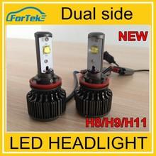 personalizar el logotipo o marca de doble lado de los faros led h4 h7 hb3 hb4 cree h11 lámpara led