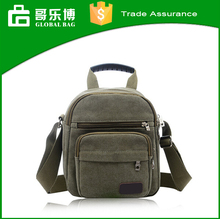 2015 Hot Sale Casual Canvas Men Sport Shoulder Travel Bag College Student School Messenger Bag