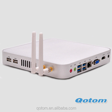 Latest Hardware computer pc,Qotom-T4010U 2G RAM,32G SSD 300M WIFI Mini computer