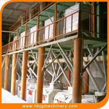 10T-500T/D turnkey project steel structure wheat flour mill machine, maize flour mill plant