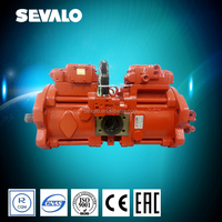 kawasaki K3/K5V Swash plate type axial piston pump for excavator Dooshan / Volvo / Hyundai