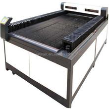 Usado máquina de corte a laser corte de aço / madeira tecido de metal placa de MDF PVC acrílico laser cortador cnc