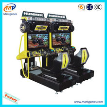 Design Hummer/hot sell indoor game amusement motorcycle race