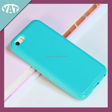 Best sell colorful silicon mobile phone case with holder for iphone5s