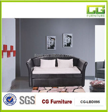 High Quality PU Faux Sofa Leather Bed from China Factory