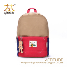 Wholesale A New Fashion School Canvas Kids Backpack