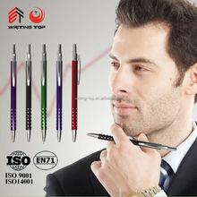 China stationery custom logo metal pen for men