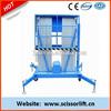 Single person lift /electric mast lift platform