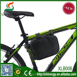 Mountain bicycle front tube bags/bike pannier bag/tube bicylce carry travel bag