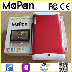 cheapest android dual core tablet pc 7inch, wifi gps android dual sim 3g phone calling tablet pc