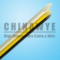 High temperature heat resistant electric cable sleeve