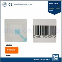 EAS Alarming System RL40*40 Anti-Theft Retail Shop 8.2MHz EAS RF Label Alarm