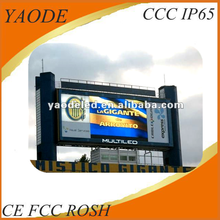 P10 Full Color led commercial advertising display screen/electronic substitution boards
