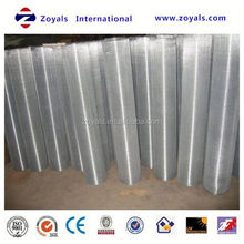 2015 ISO9001 Certificate: galvanized welded wire mesh/galvanized welded wire mesh panel/galvanized welded wire mesh roll