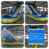 PVC inflatable bouncy slide for sale