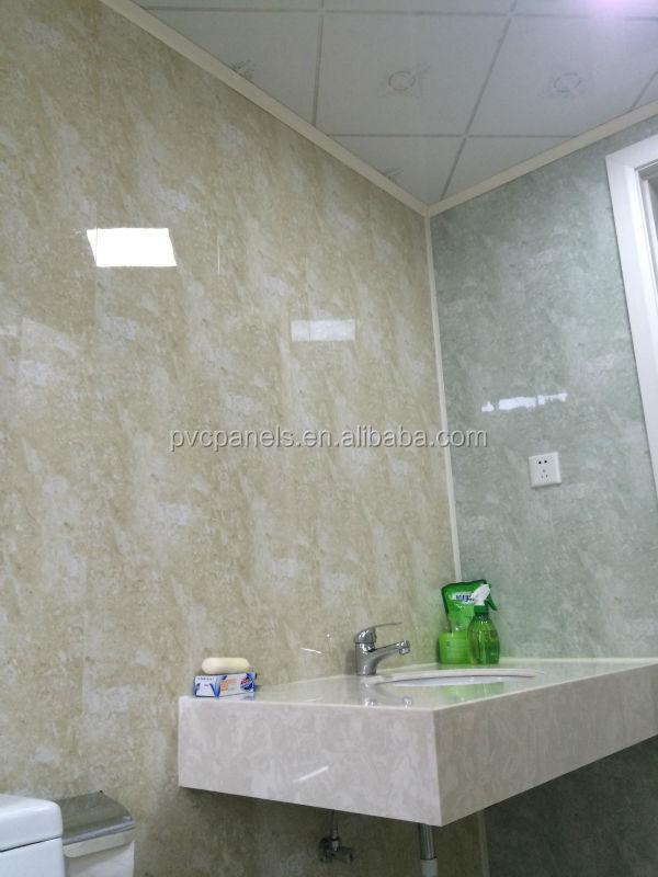 waterdichte plastic panelen voor plafonds marmeren muur