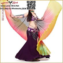 wholesale lover-bird belly dance products 2015 hot selling China manufacturer belly dance costumes wings