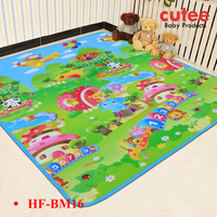 Soft Folding Waterproof Outdoor Baby Kids Play Game Mat