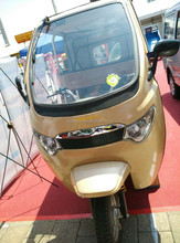Battery operated three wheeler power tricycle for passenger teb-88