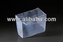 Various types of plastic pallet cover with gusset made in Japan