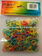 2012 synthetize small pink rubber band for money tie
