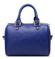 Any color waterproof brand leather handbag, wholesale alibaba gold zipper buy handbag online