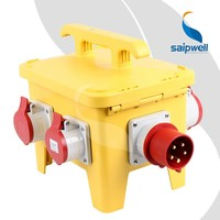 SAIP/SAIPWELL Manufacture Power Waterproof Electrical Mobile Socket Box