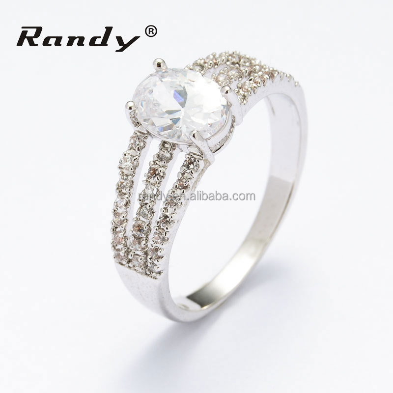 wholesale zircon jewelry wedding ring high quality